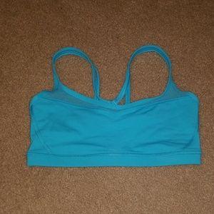 Lululemon athletica teal sports bra, Size 6